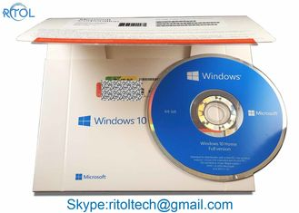 China Windows 10 Home Pack USB 32 / 64 Bit , OEM Win 10 Pro / Home Windows 10 Coa Key supplier