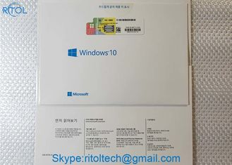China Multi Language Windows 10 Product Key Sticker Professional 64 Bit OEM FPP License supplier