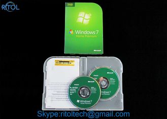 32 / 64 bit Windows 7 Install DVD Disc , Windows 7 Home Premium retail box
