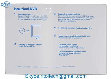 Software Windows 10 Professional Oem Key , Multi Language Windows 10 Pro 64bit OEM