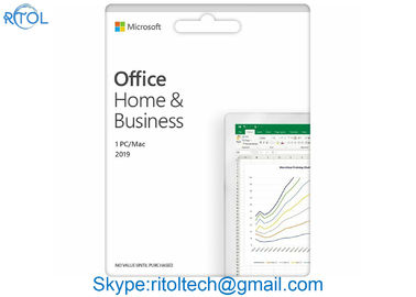 4GB RAM Microsoft Office Home And Business 2019 DVD Media English Online Product Key