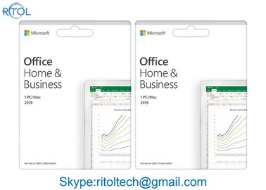 Home And Business Microsoft Office Retail Version , Professional Office 2019 Key