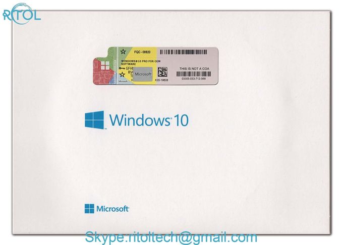 Pro 32 / 64 Bit Windows 10 Home OEM Full Version Genuine License Standard OEM Package